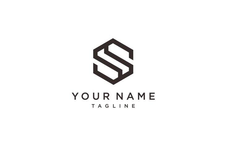 Letter S logo icon design template elements. Unique modern example image 1