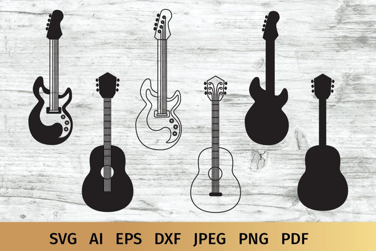 Guitar SVG | Music SVG example image 1