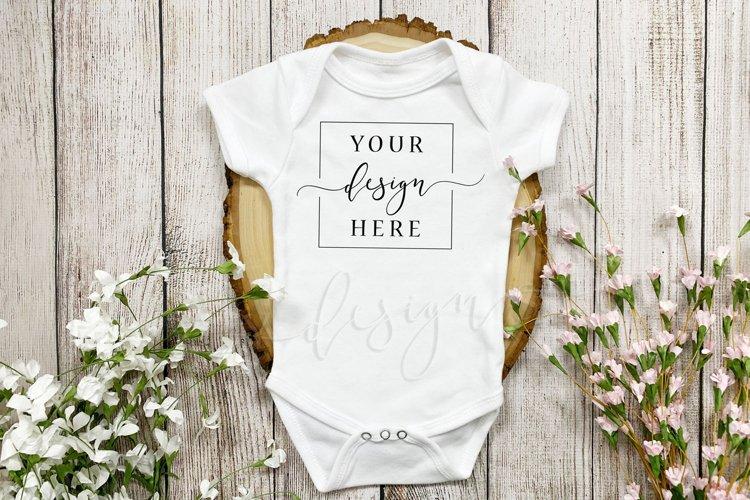 Easter Onesie Mockup baby onesie mockup baby mockup Infant onesie mockup baby bodysuit mockup flat lay mockup| white onesie mockup