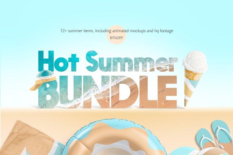 Hot Summer Mockups Bundle example image 1