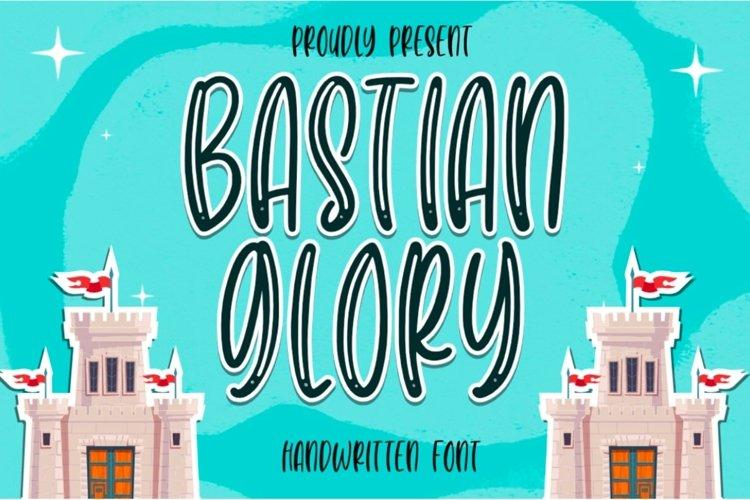 Bastian Glory - Cute Font example image 1