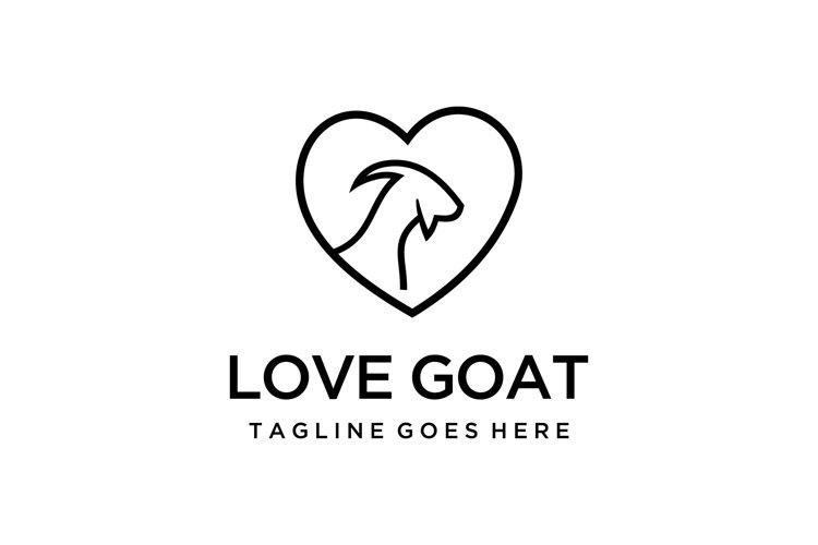 love goat logo example image 1