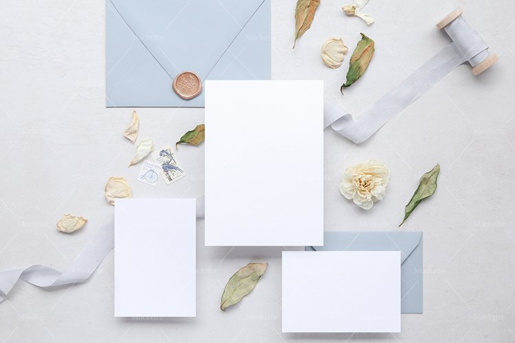 Wedding Stationery Mockup - Invite - Clarendon