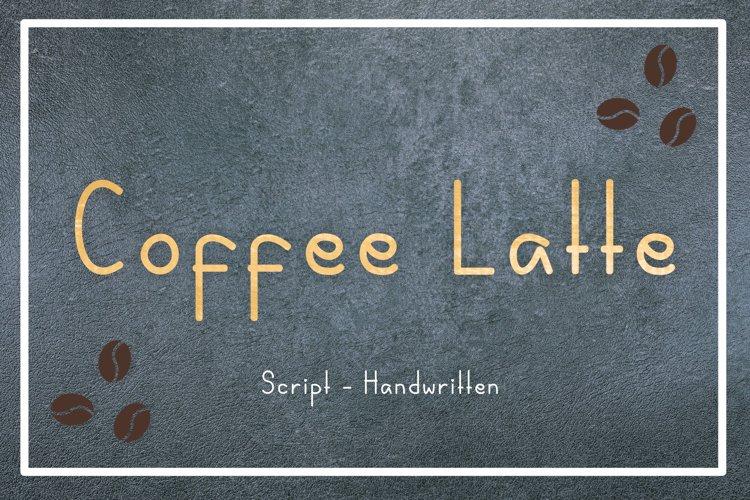 Coffee latte example image 1