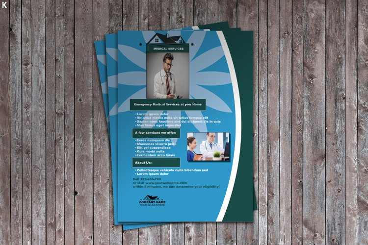 Medical Service Flyer example image 1