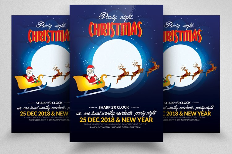 Marry Christmas Flyer Template example image 1
