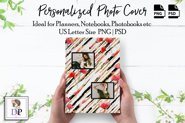 Photo Cover Frame Art for Planner Notebook Photobook Vol8 4 example image 1