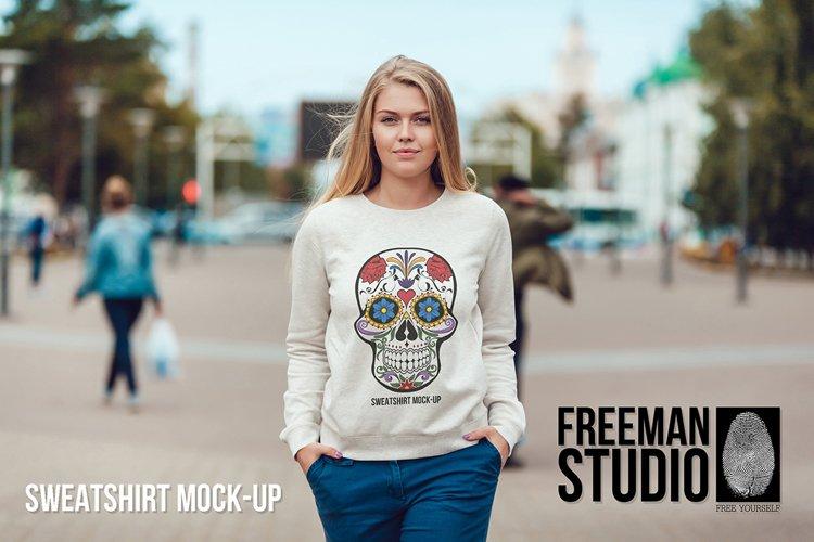 Sweatshirt Mock-Up Vol 1 example image 1