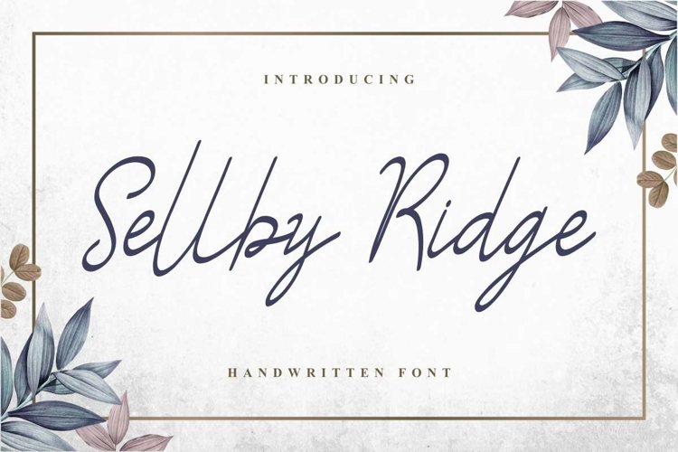 Sellby Ridge example image 1