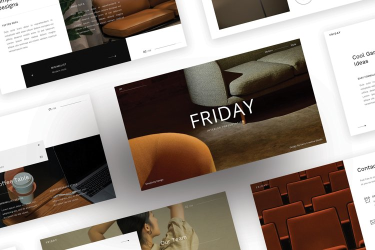 Friday - Simple Business GoogleSlideTemplate example image 1