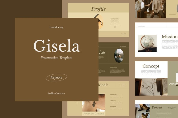 GISELA - Keynote Template example image 1