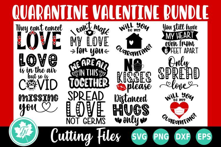 Valentine SVG Bundle   Quarantine Valentine SVG Bundle example image 1