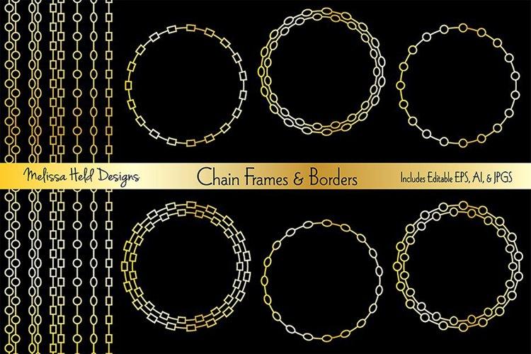 Download Chain Frames Borders 150932 Decorations Design Bundles
