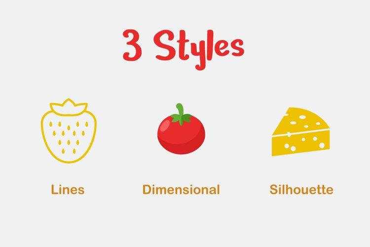 Food Vector Set - Free Design of The Week Design0