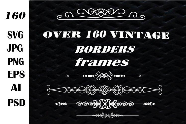 Frames SVG. Borders SVG.Vintage borders and frames SVG.