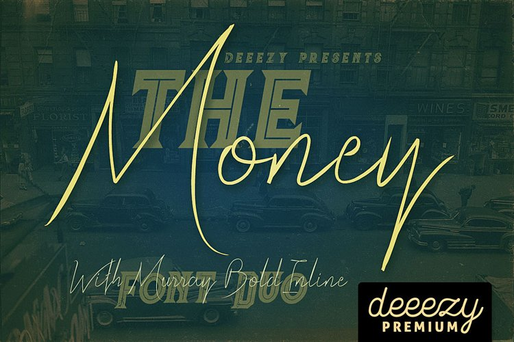 The Money Font Duo example image 1