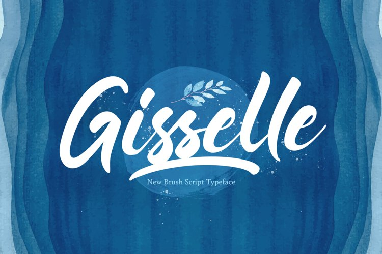 Gisselle - Bold Script Font example image 1