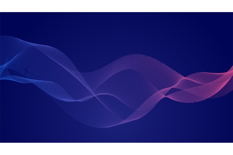 Abstract wave background example image 1