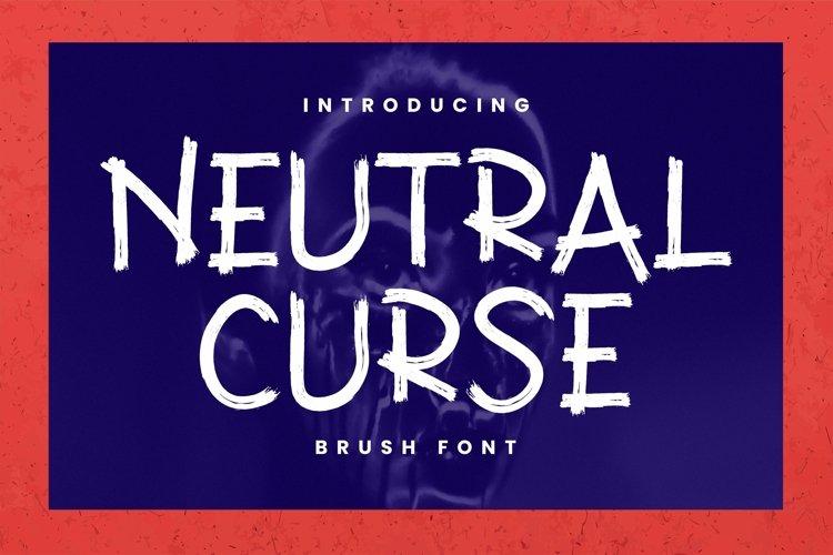 Web Font Neutral Curse Font example image 1