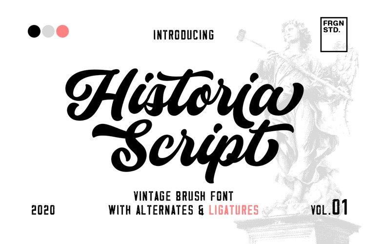 Historia Script example image 1