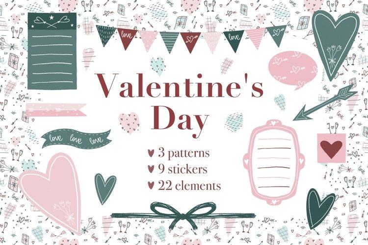 Valentines Day - romantic set