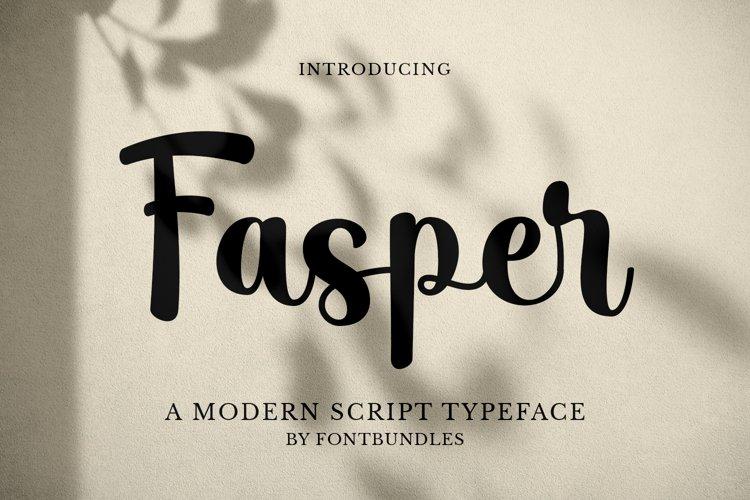 Fasper example image 1