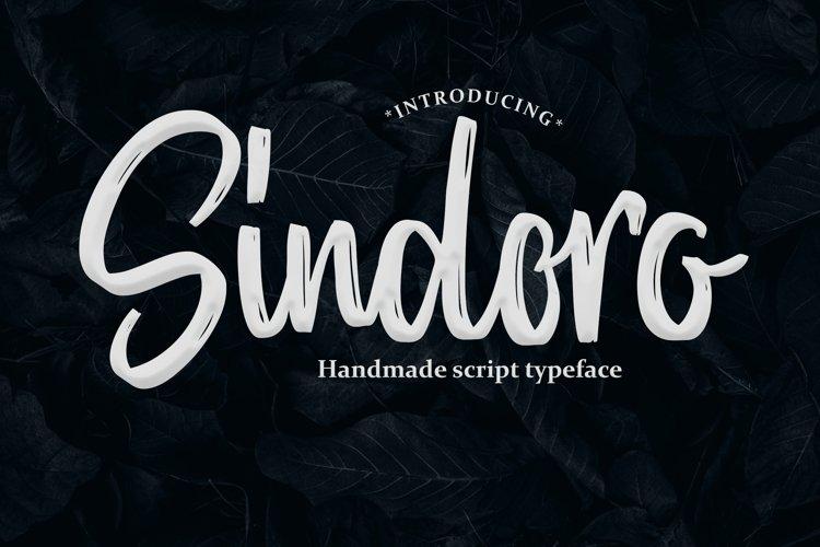Sindoro - Handmade Script example image 1