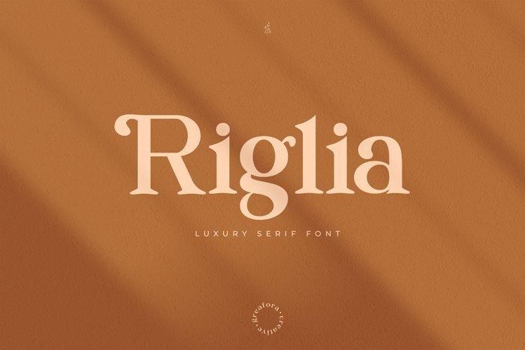 Riglia Serif Font example image 1