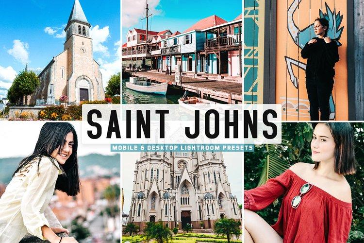 Saint Johns Mobile & Desktop Lightroom Presets example image 1