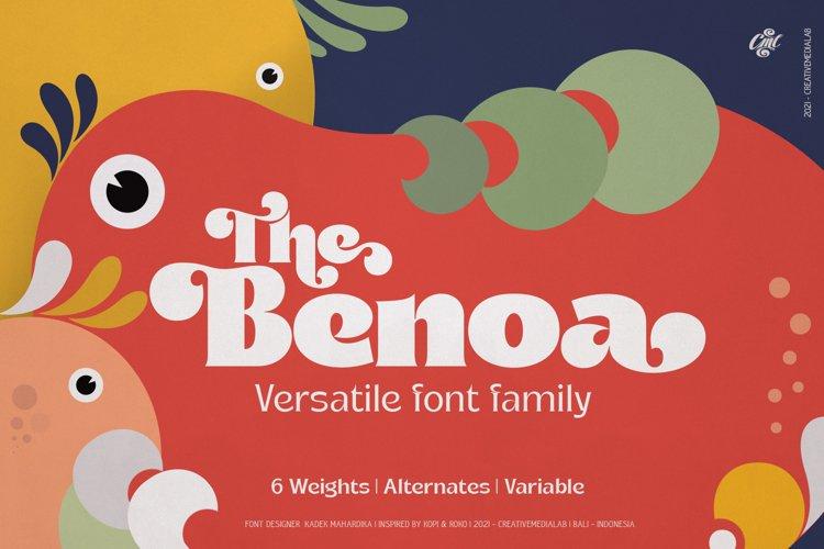 Benoa - Versatile font family