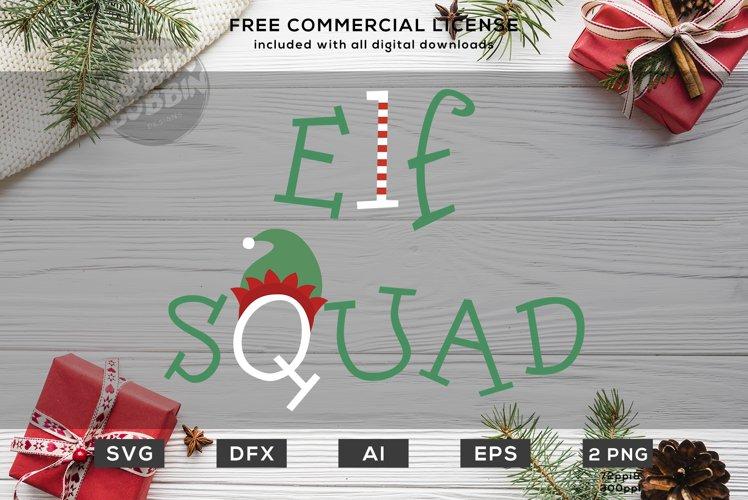Elf Squad - Christmas SVG Design example image 1