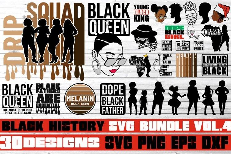 30x Black Women svg Bundle, Black History, Melanin svg, Bhm