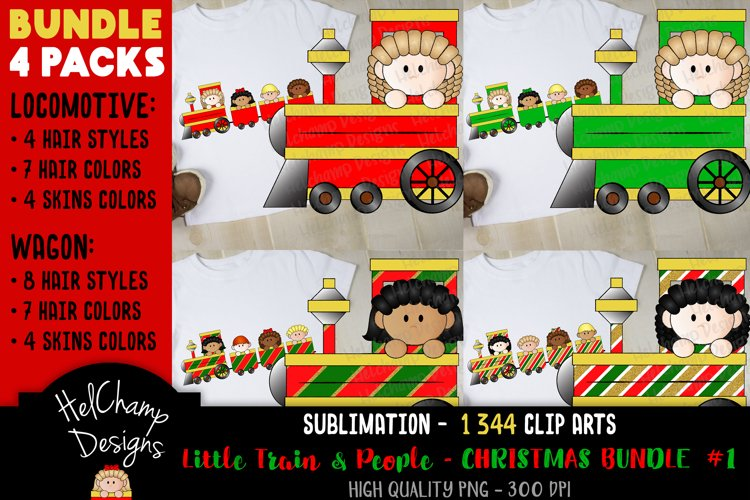 Little Trains collection - Christmas - BT001