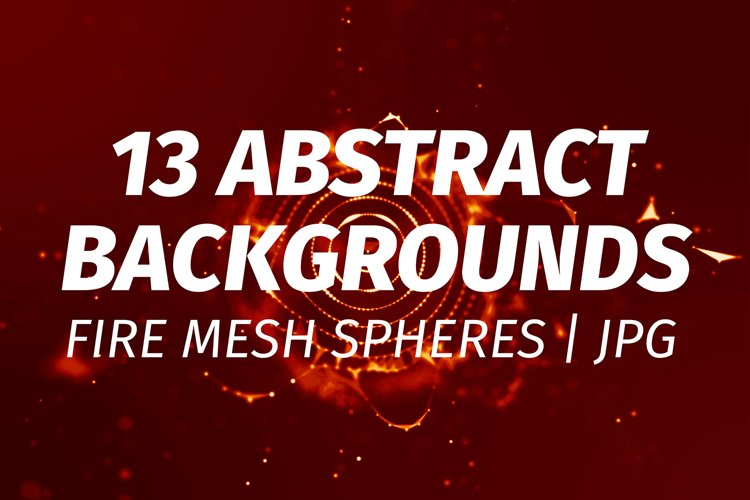 13 Red Abstract plexus backgrounds example image 1