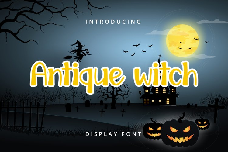 Antique Witch example image 1