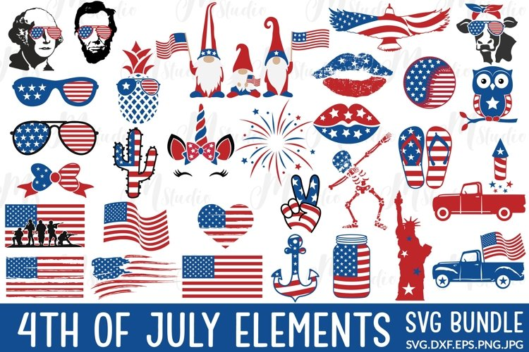 4th of July Elements example image 1