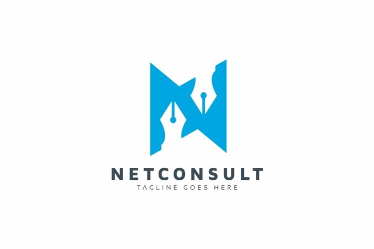 Consulting N Letter Logo example image 1
