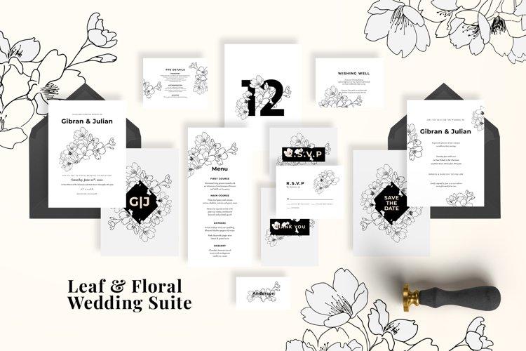Modern Sketch Wedding Suite example image 1