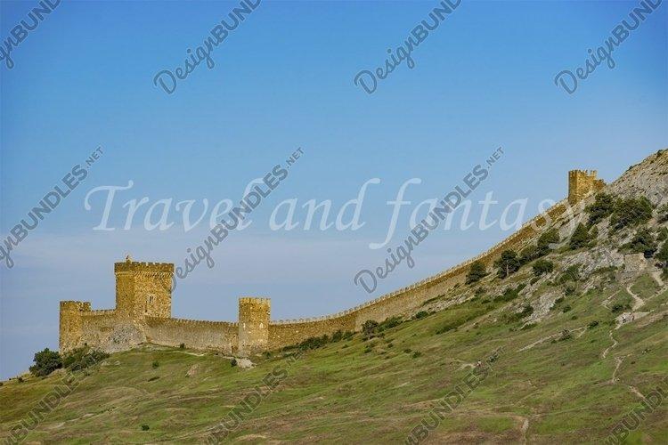 Sudak, Russia. Genoese fortress