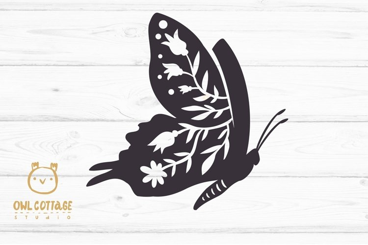 Butterfly SVG, butterfly PNG, butterfly silhouette example 2