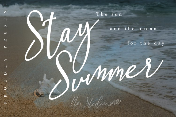 Stay Summer example image 1