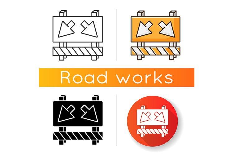 Detour icon example image 1