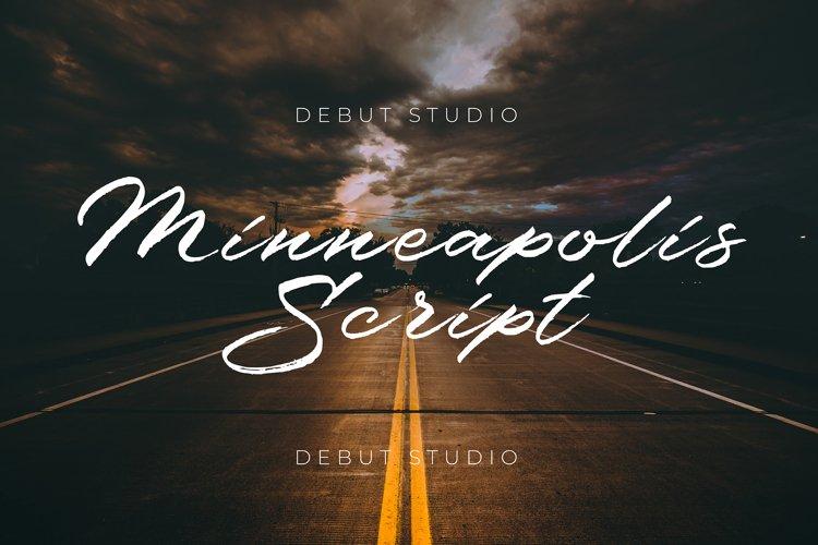 Minneapolis Script example image 1