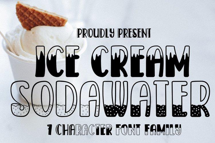 Ice Cream Sodawater example image 1