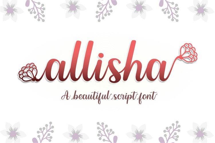 Allisha example image 1