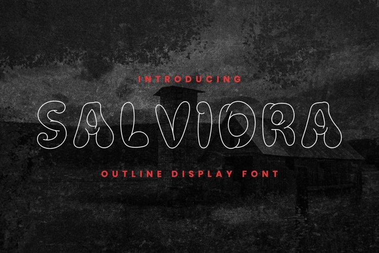 SALVIDRA Font example image 1