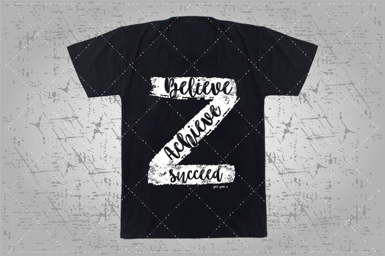 believe achieve succeed example image 1