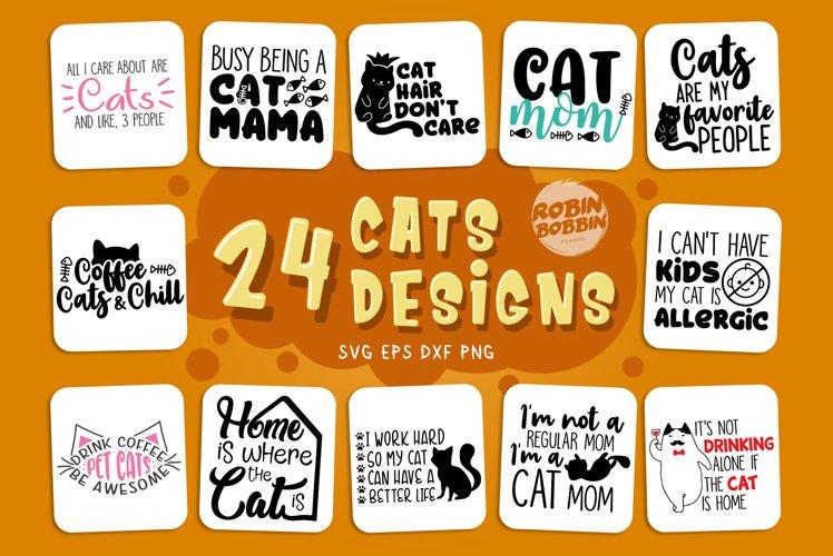 Cats SVG Bundle - Cat Quotes Bundle
