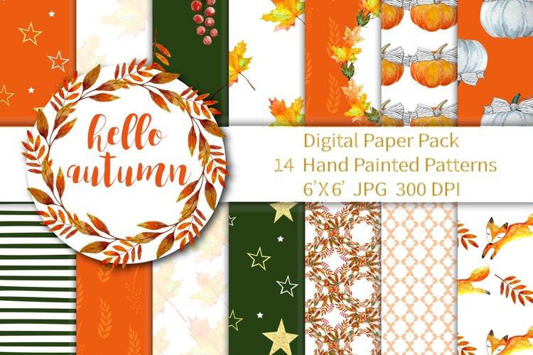 Autumn Digital Paper example image 1