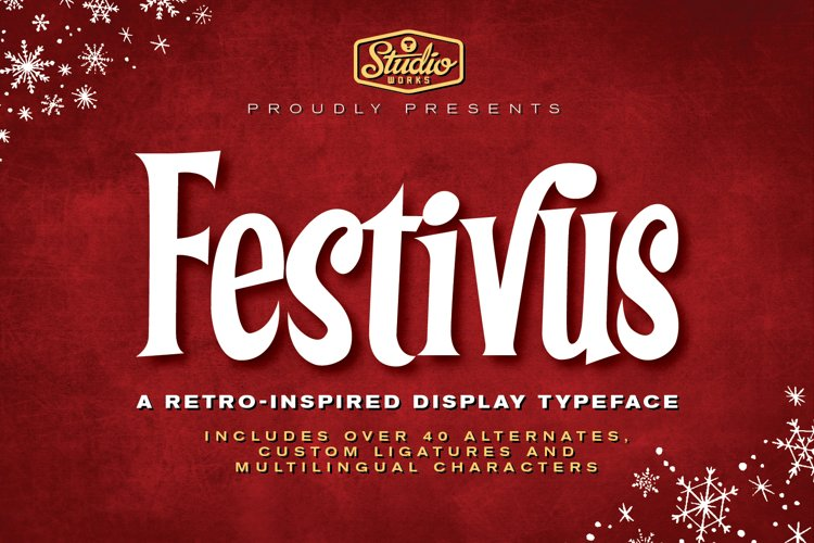Festivus | Retro Holiday Type!